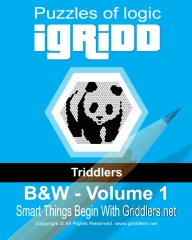iGridd Triddlers: Black and White