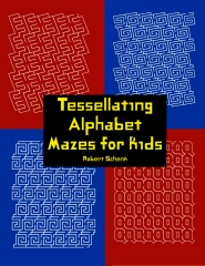 Tessellating Alphabet Mazes for Kids