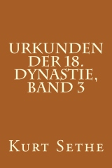 Urkunden der 18. Dynastie, Band 3