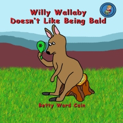 Willy Wallaby Doesn't Like Being Bald