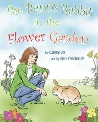 The Bunny Rabbit In The Flower Garden
