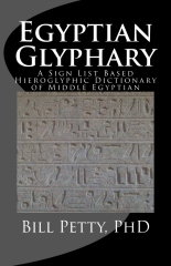 Egyptian Glyphary