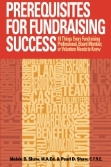 Prerequisites for Fundraising Success