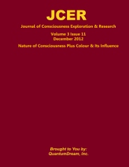 Journal of Consciousness Exploration & Research Volume 3 Issue 11
