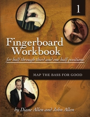 The Fingerboard Workbook for Half through Third and One Half Positions