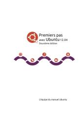 Premiers pas avec Ubuntu 12.04