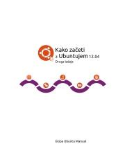 Kako zaceti z Ubuntujem 12.04
