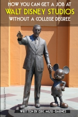 How You Can Get a Job at Walt Disney Studios Without a College Degree