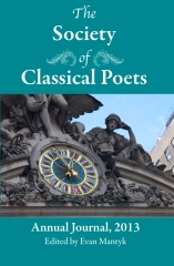 The Society of Classical Poets Annual Journal, Vol. 1 2013