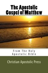 The Apostolic Gospel of Matthew