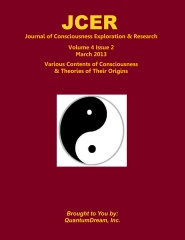 Journal of Consciousness Exploration & Research Volume 4 Issue 2