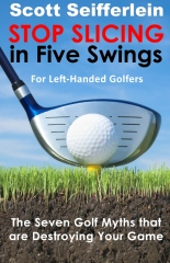 Stop Slicing in Five Swings for Left-Handed Golfers
