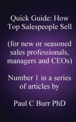Quick Guide - How Top Salespeople Sell