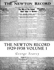 The Newton Record 1929-1938
