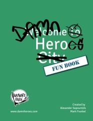 Damn Heroes Fun Book
