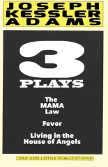 Three Plays by Joseph K. Adams