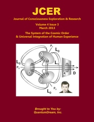 Journal of Consciousness Exploration & Research Volume 4 Issue 3