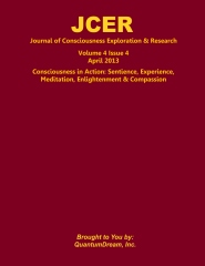 Journal of Consciousness Exploration & Research Volume 4 Issue 4