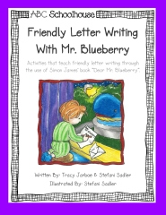 Friendly Letter Writing with Mr. Blueberry