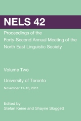 NELS 42: Proceedings of the 42nd Meeting of the North East Linguistic Society: Volume 2