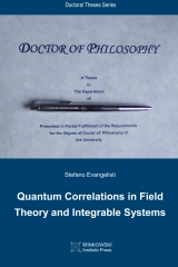 Quantum Correlations in Field Theory and Integrable Systems