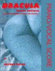 Dracula (opera erotica) Piano/Vocal Score