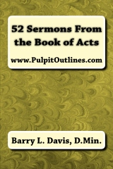 52 Sermons From the Book of Acts