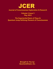 Journal of Consciousness Exploration & Research Volume 4 Issue 5