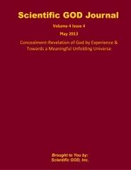 Scientific GOD Journal Volume 4 Issue 4