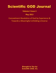 Scientific GOD Journal Volume 4 Issue 4