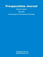 Prespacetime Journal Volume 4 Issue 5