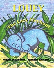 Louey the Lazy Elephant