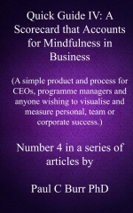 Quick Guide IV - A Scorecard that Accounts for Mindfulness in Business