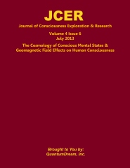 Journal of Consciousness Exploration & Research Volume 4 Issue 6