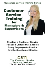 Customer Service Training for Managers & Supervisors