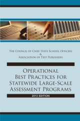 Operational Best Practices for Statewide Large-Scale Assessment Programs