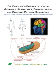 Dr Vasquez's Presentation on Migraine Headaches, Fibromyalgia, and Chronic Fatigue Syndrome