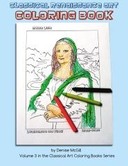 Classical Renaissance Art Coloring Book