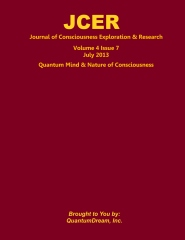 Journal of Consciousness Exploration & Research Volume 4 Issue 7