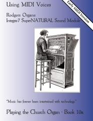 Playing the Church Organ Book 10a