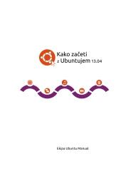 Kako zaceti z Ubuntujem 13.04