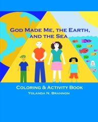 God Made Me, the Earth, and the Sea Coloring & Activity Book