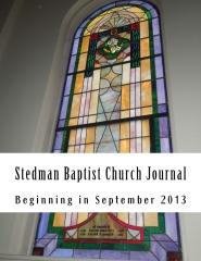 Stedman Baptist Church Journal