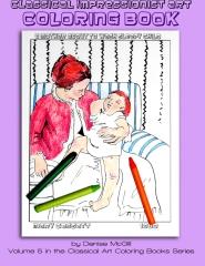 Classical Impressionist Art Coloring Book