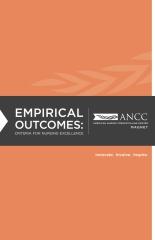 Empirical Outcomes: Criteria for Nursing Excellence