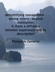De-mythifying Management - among others - Beyond Dislocation
