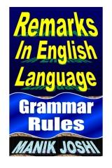 Remarks In English Language
