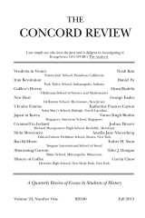 The Concord Review: V24, No. 1, Fall