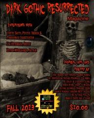 Dark Gothic Resurrected Magazine, Fall 2013