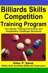 Billiards Skills Competition Training Program